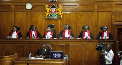 Kenya's Supreme Court upholds election of Kenyatta