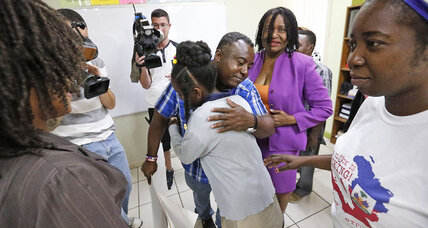 Temporary protected status ending for Haitians living in US