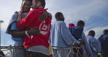 In Italy, migrant welcome cools