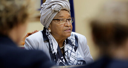 Africa's first female president set new course for Liberia. But what about for its women?