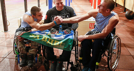 Wounded vets force disability rethink in Ukraine
