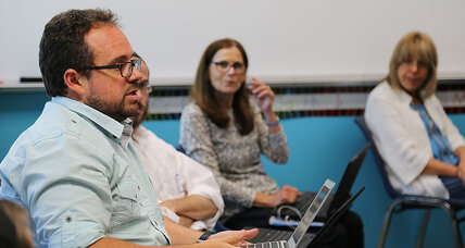 Support for teachers: One-on-one online mentoring fills a niche