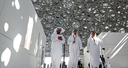With Louvre Abu Dhabi, France displays new vision for global influence