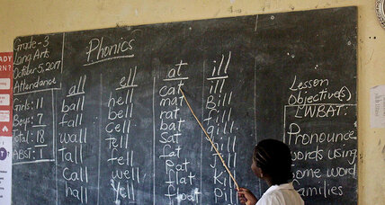 Liberia bet big on charter schools. One year in, what's it learning?