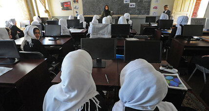 Afghan girls' education: islands of progress in a sea of adversity