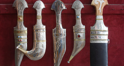 Amongst Bedouins, modern life blunts demand for ancient daggers