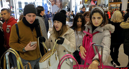 Shopping becomes a hybrid experience, as stores and smartphones intersect