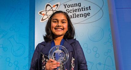 Meet the 11-year-old inventor working to improve lead water testing
