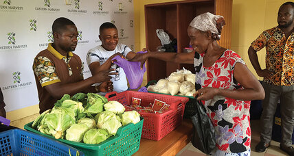 How a Ghanaian decided to set up a food bank