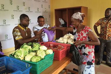 How a Ghanaian decided to set up a food bank - CSMonitor com