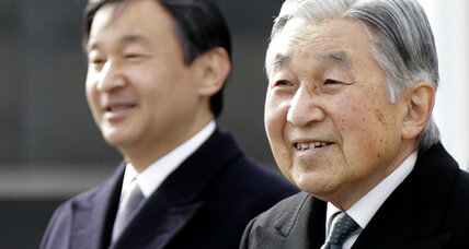 Emperor Akihito sets date for his abdication of Japan's throne