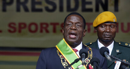 Newly inaugurated Zimbabwean president rewards military leaders with government positions