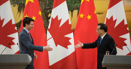 Canada looks to China for trade deal