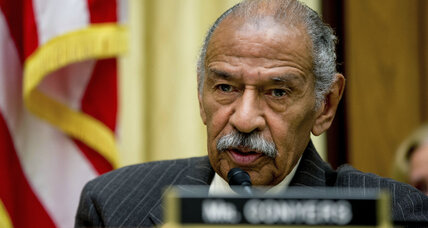 Rep. Conyers steps down amid sexual harassment claims