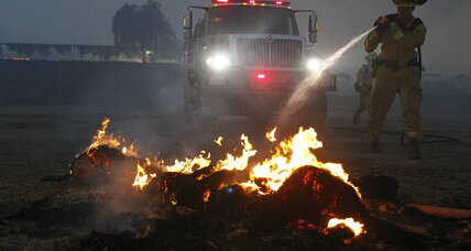 New California wildfires threaten San Diego area