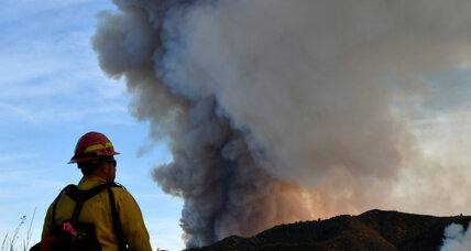 Strong winds keep southern California wildfires burning for a second week