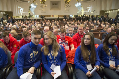 Russian Olympic Committee pledges support for athletes