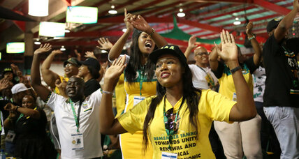 South Africa's ANC party on the verge of electing a new leader