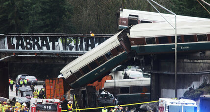 Amtrak train derails in Washington State on inaugural run
