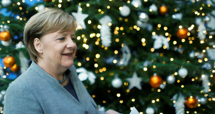 Holiday cheer persists in Germany despite a long government transition