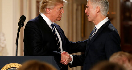 Justice Gorsuch upholds Trump's campaign promise for the Court