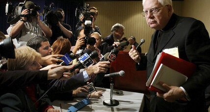 The Vatican announces passing of Cardinal Law