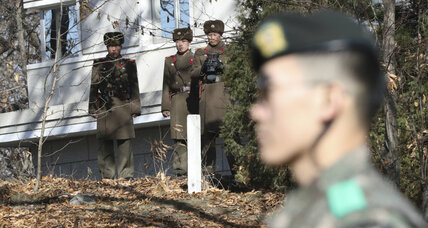 South Korean soldiers fire warning rounds at N. Koreans during defection