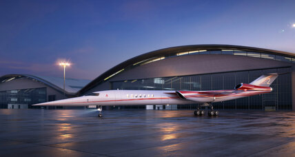 Companies race to produce supersonic jets suited for everyday travel