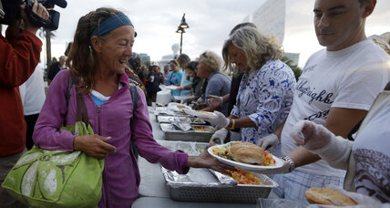 What is the best way to help homeless communities? Cities and volunteers debate.