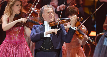 King of Waltz or King of Schmaltz? How conductor André Rieu fills stadiums.