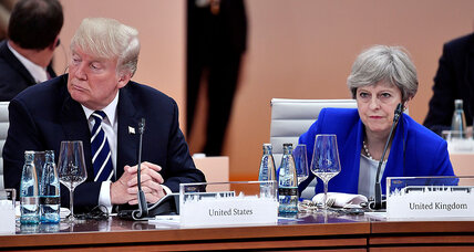 In Trump era, US-UK 'special relationship' faces – and causes – new trials