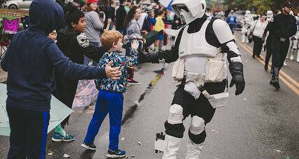 These 'Star Wars' fans combine dressing up with doing good
