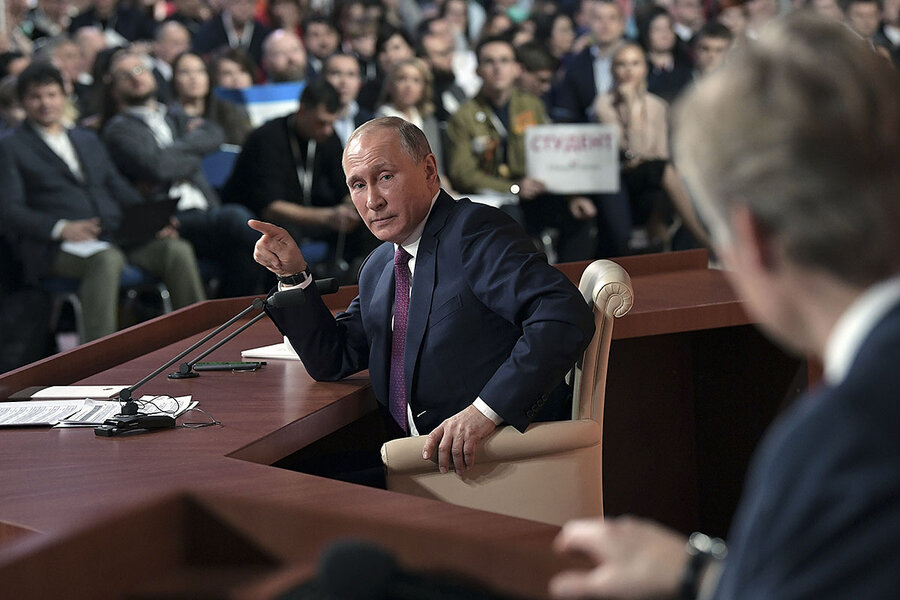 Kremlin's four-hour presser leaves key question unanswered: after Putin, what next?