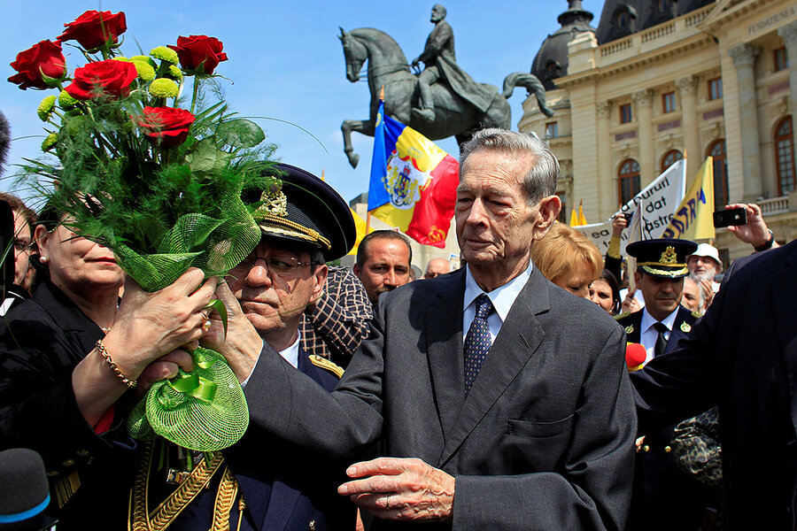 in romania  royal funeral prompts regrets