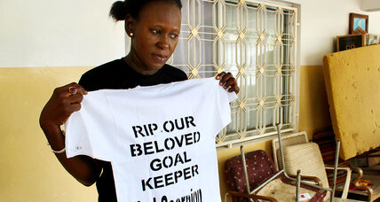 After soccer star risked all for Europe, Gambia still wrestles with why she left