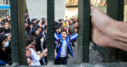 In Iran's surprise uprising of the poor, dents to revolution's legitimacy
