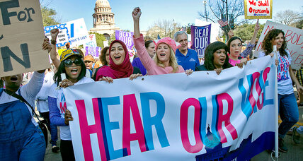 A year after the March, women are sprinting forward