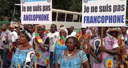 In Cameroon's Anglophone crisis, a stitched-together nation pushes at the seams