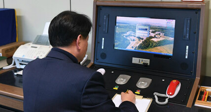 Communication channel officially reopens between the Koreas