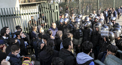 Days of protest and unrest in Iran lead to 3,700 arrests