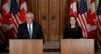 US and Canada hold summit on North Korean nuclear threat