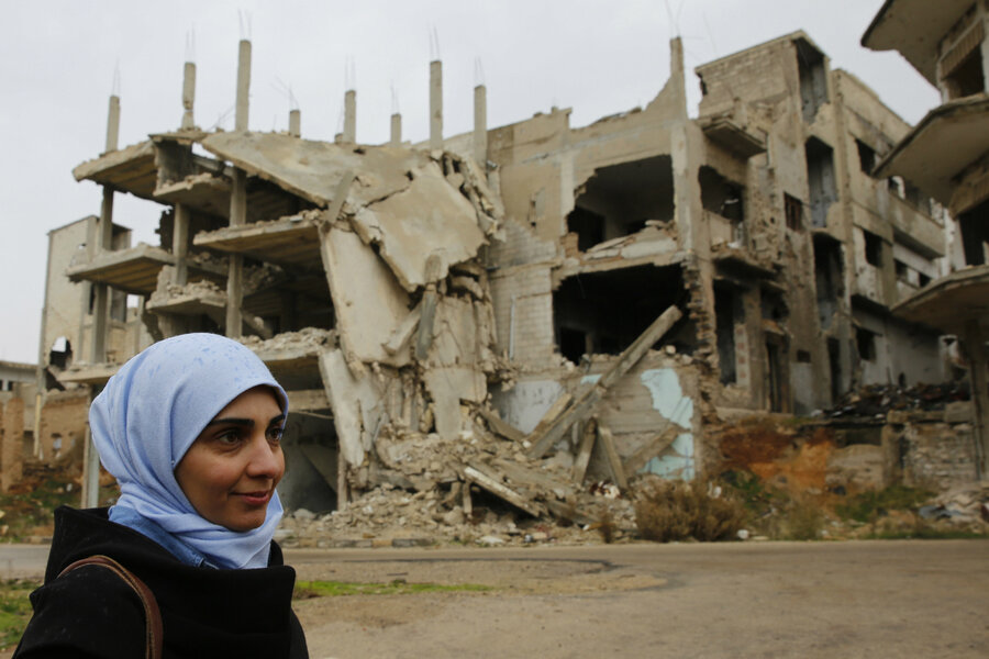 Daily life is slow to return to Syrian