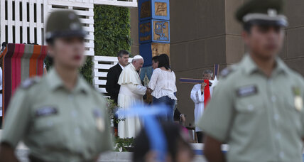 Chilean protests, threats 'unprecedented' for papal visit