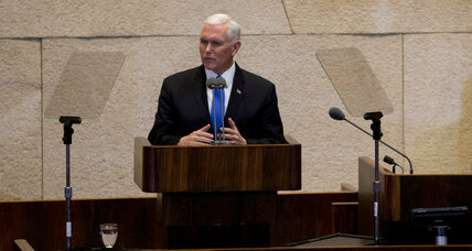 Pence's reference to 'Israel's capital' calls US ability to mediate into question