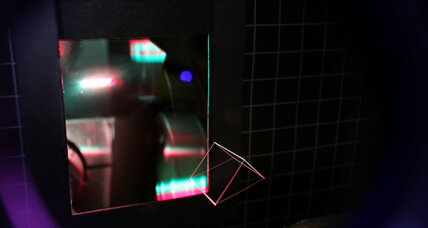 New 3-D projection technology allows 'printing in space'