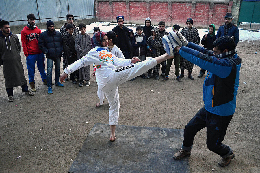 Amid kashmirs unrest girls sports are more than a game amid kashmirs unrest girls sports are more than a game csmonitor altavistaventures Images