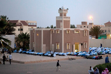 Meanwhile... in Nouakchott, Mauritania, a determined group of teenagers is working to improve the country's capital