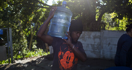 Drought-stricken Cape Town joins urban water project