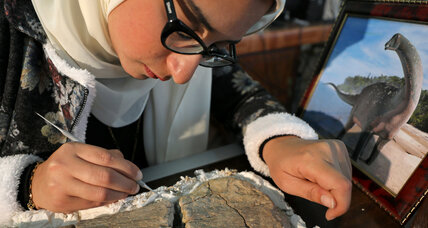 Rare dinosaur discovery marks Egypt's strides in paleontology