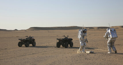 Remote Oman desert serves as stand-in for Mars